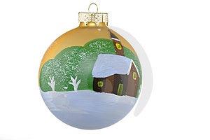 Christmas ball Free Stock Image