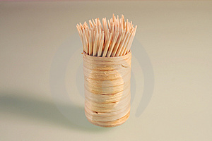 Toothpicks Stock Image - Image: 4411581