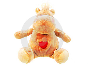 Hippopotamus Toy Stock Photography - Image: 4414192