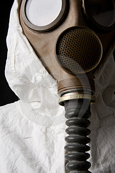 Person In Gas Mask Stock Images - Image: 4414574