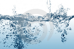 Water splash background Royalty Free Stock Photography