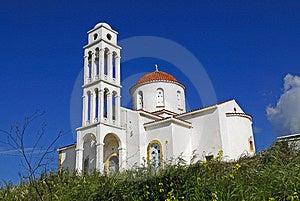 Greek Church Stock Image - Image: 4420391
