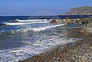 Beach Of Sfinari Royalty Free Stock Photography - Image: 4420817