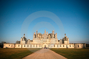 champord castle Royalty Free Stock Photography