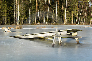 Frozen Bridge Stock Photos - Image: 4422833