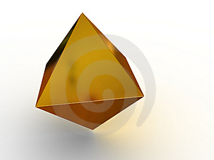 Simple Geometrical Figure. Royalty Free Stock Image - Image: 4425586