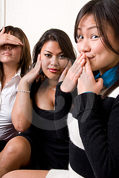 Hear No Evil, Speak No Evil, See No Evil Stock Photos - Image: 4429213