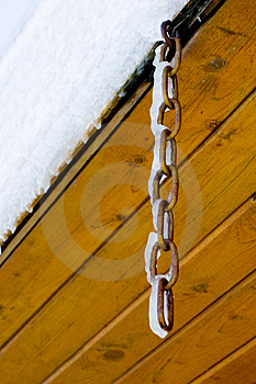 Frosted Chain Stock Images - Image: 4431434