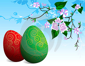 Easter Greeting Card Royalty Free Stock Photography - Image: 4433757