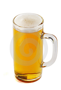 Beer mug. Variant two Stock Photo
