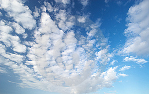 Fluffy Clouds Stock Images - Image: 4441114
