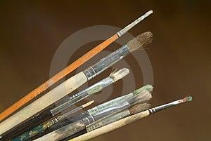 Paintbrushes Stock Image - Image: 4444011