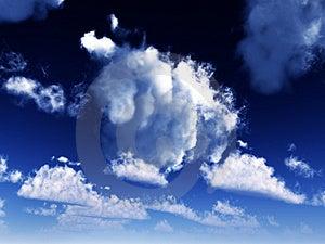 Blue Sky 34 Stock Photos - Image: 4446733