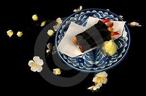 Wrapped Shrimp Stock Image - Image: 4447581