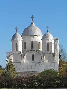 East Orthodoxy Church Of Ioann Predtechi Royalty Free Stock Photo - Image: 4448405