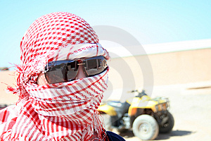 Conducteur D'ATV Photos stock - Image: 4449283