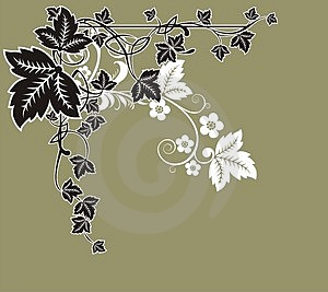 Floral Frame Royalty Free Stock Images - Image: 4450579