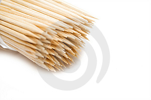Some Toothpicks Stock Image - Image: 4451541