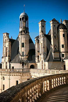 Chambord Castle Royalty Free Stock Photos - Image: 4458668
