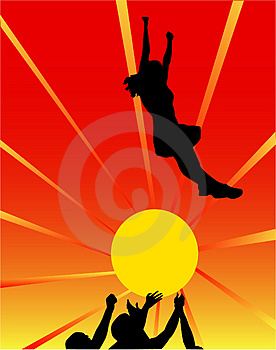 Jump Stock Photo - Image: 4458960