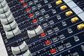 Sound mixer faders