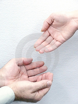 Hands Of People. Movement. Stock Images - Image: 4460514