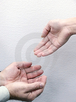 Hands Of People. Movement. Royalty Free Stock Photos - Image: 4460618