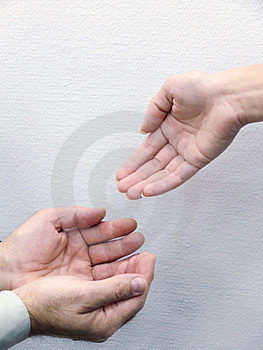 Hands Of People. Movement. Stock Image - Image: 4460661