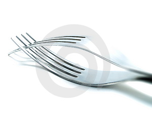 Forks Royalty Free Stock Image - Image: 4460666
