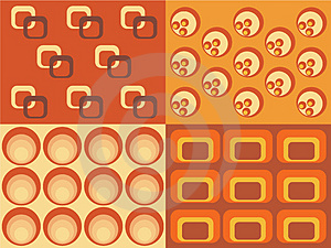 Retro Pattern Stock Photo - Image: 4463080