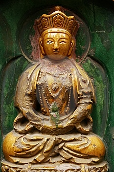 Figure Of Buddha Royalty Free Stock Photography - Image: 4464877