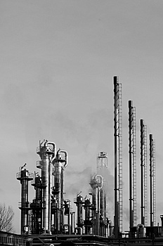 Industry In A Dark Concept Stock Photography - Image: 4467422