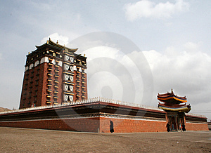 Milarepa Lhakhang Royalty Free Stock Photo - Image: 4473175