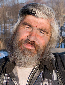 Portrait Of Man With Beard 23 Stock Image - Image: 4474641