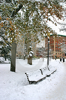 Boston Winter Stock Photo - Image: 4482160