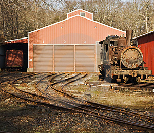 Rusted Locomotive Stock Images - Image: 4488904
