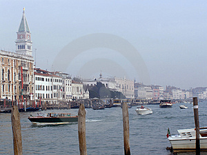 Venice: Canal Grande Stock Image - Image: 4491441