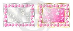 Vector Frames Royalty Free Stock Photos - Image: 4492598