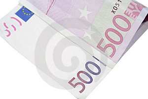 Five Hundred Euros Stock Images - Image: 4492714