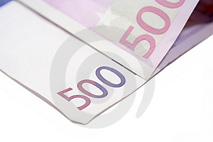 Five Hundred Euros Stock Images - Image: 4492784