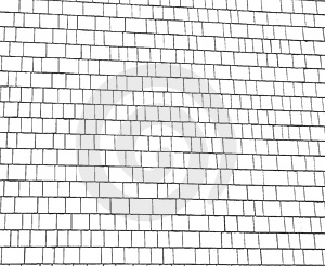 White And Gray Shingles Background Stock Image - Image: 4494681