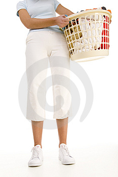 Clothing to the washing. Stock Image