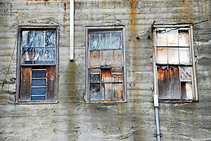 Old Windows Royalty Free Stock Images - Image: 4498299