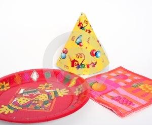 Partijvoorwerpen Royalty-vrije Stock Foto's - Afbeelding: 450668