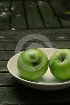 Green Apples Royalty Free Stock Image - Image: 451026