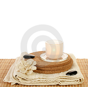 Beauty spa set Stock Image