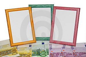 Euro Frames Royalty Free Stock Photo - Image: 4512535