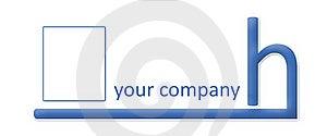 Company Logo - Ending H Stock Image - Image: 4512601