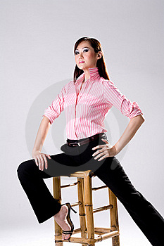 Businees Woman Looking Confidence Stock Photos - Image: 4517153