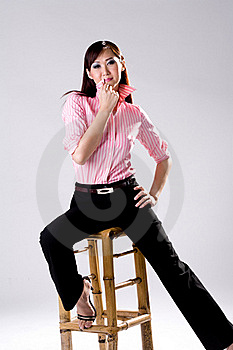Businees Woman Looking Confidence Stock Photography - Image: 4517182